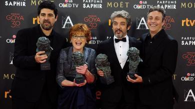 Película 'Truman' fue la gran ganadora de los Premios Goya 2016 [Fotos]