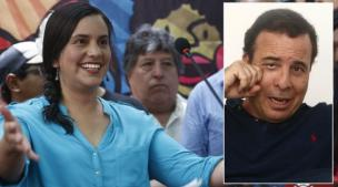 Así respondió Verónika Mendoza a la dedicatoria que le escribió Aldo Mariátegui