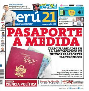 Pasaporte a medida