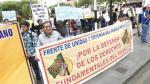 Partido fachada del Movadef protestó por su inscripción como partido político ante el JNE. (USI/Referencial)