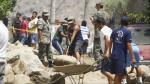 Huarochirí: Huaico bloqueó tramo de la Carretera Central, en Santa Cruz de Cocachacra - Noticias de roger zuzunaga