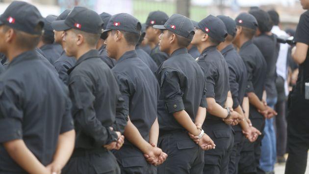 Hay un policía por cada 856 habitantes, según último censo del INEI