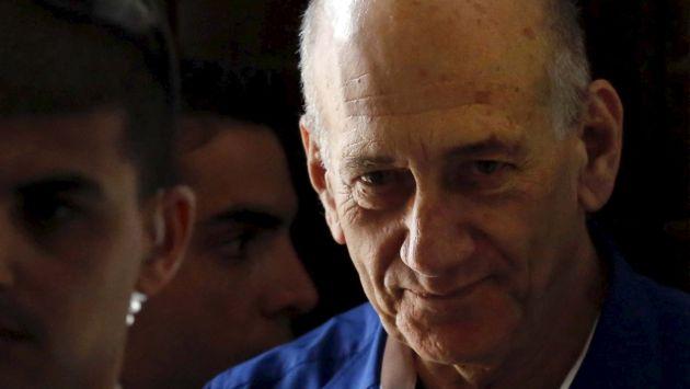 Israel: Condenan a prisión a exjefe de gobierno israelí por corrupción. (Reuters)