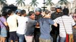 Colectivos LGBT presentarán denuncia ante la Defensoría del Pueblo tras ser reprimidos por la Policía. (Anthony Niño de Guzmán/Perú21)