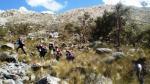 Arequipa: Policía rescató a cuatro personas que estaban perdidas en el Colca - Noticias de cerro castillo