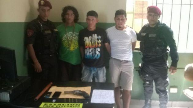 Villa El Salvador: Capturaron a tres 'raqueteros' durante operativo. (Difusión)