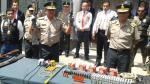 Policía Nacional capturó a 21 traficantes de terrenos en Huaral - Noticias de aucallama