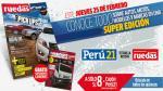 Perú21 te trae la revista de autos Ruedas & Tuercas a un gran precio - Noticias de cherokee