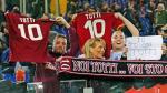 Francesco Totti lloró de emoción con ovación de hinchas de la Roma tras castigo del DT Luciano Spalletti - Noticias de rudi garcia