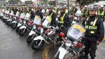 Policía recibirá 700 motos nuevas para reforzar patrullaje integrado en Lima y Callao - Noticias de luis saenz