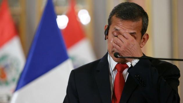 El presidente Ollanta Humala convocó a las 11 de la noche del lunes al embajador de Brasil en Lima. (Anthony Niño de Guzmán)