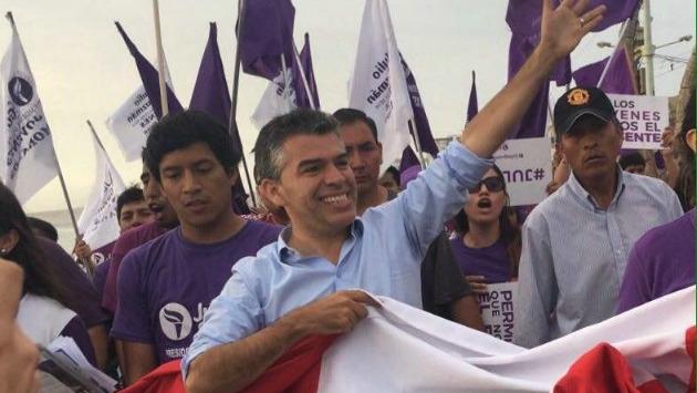 Nano Guerra García anunció que acudirá personalmente al JEE a las 3:00 p.m. (USI)