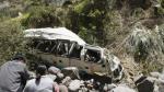 Áncash: Bus cae a un abismo y deja diez muertos [Video] - Noticias de mario aranda