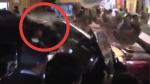 Le lanzaron una botella con agua a Alan García en su visita a Chincha [Video] - Noticias de alan garcía