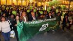 Arequipa: Militantes del partido de alcalde Alfredo Zegarra marchan en Plaza de Armas pese a que está prohibido - Noticias de informe tejada