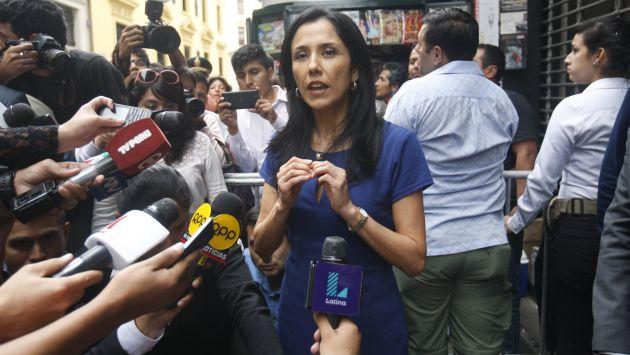 En la mira. Nadine Heredia deberá aclarar presuntos pagos o aportes de constructoras al nacionalismo. (Anthony Niño de Guzmán)