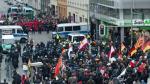 Alemania: Manifestantes de ultraderecha marcharon en contra del ingreso de refugiados [Fotos] - Noticias de brandeburgo