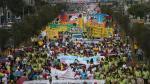 'Marcha por la vida': Grupos que rechazan el aborto se movilizaron por las calles de Lima [Fotos y video] - Noticias de scouts del perú