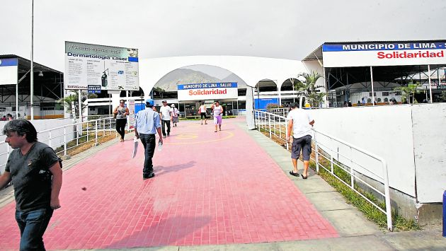 Un 'paciente' robó 60 mil soles en el Hospital de la Solidaridad de San Juan de Lurigancho. (USI)