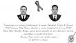 Policía Nacional homenajeó a los dos policías que fallecieron durante persecución a delincuentes