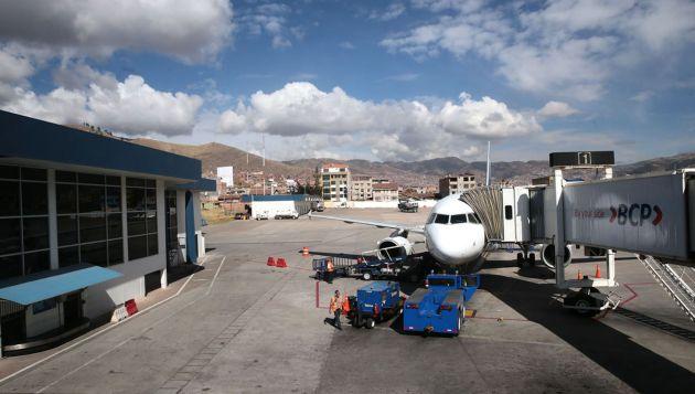 Luego de 20 horas vuelos se reanudaron en el Cusco. (Andina)