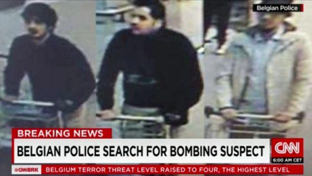 Atentado en Bruselas: Fiscalía identificó dos hermanos suicidas y busca a otro terrorista. (CNN)
