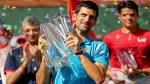 Novak Djokovic venció a Milos Raonic y se coronó campeón del Indian Wells por quinta vez [fotos] - Noticias de masters indian wells