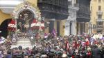 Señor de los Milagros sale en procesión por las calles de Lima este viernes santo - Noticias de senor de los milagros