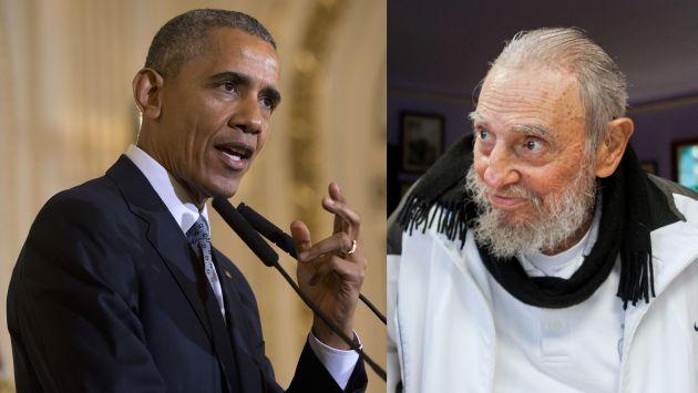 """Carta de Fidel Castro a Barack Obama: """"No necesitamos que el imperio nos regale nada"""". (AP/EFE)"""