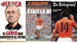Johan Cruyff: Así le rindieron homenaje los diarios del mundo tras su muerte [Fotos] - Noticias de johan cruyff
