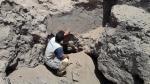Lambayeque: Huaqueros se llevan vestigios Mochica del cerro Las Ánimas - Noticias de pucala