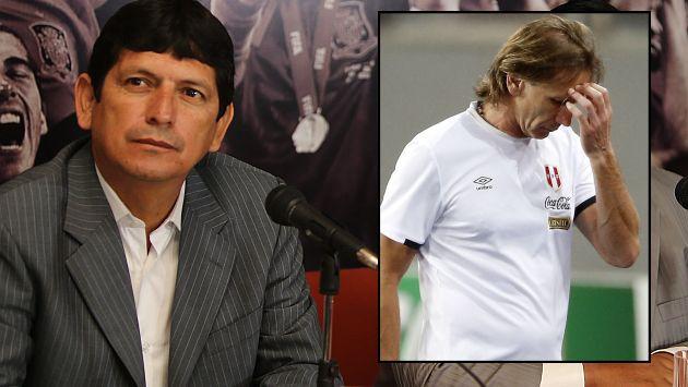 """Agustín Lozano: """"Si yo fuera Ricardo Gareca renunciaría"""". (USI)"""