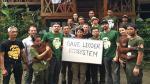 Leonardo DiCaprio viajó a la selva de Indonesia para apoyar a defensores de la naturaleza [Fotos] - Noticias de asia one
