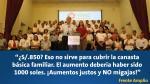 Sueldo mínimo: ¿Qué dijeron los candidatos tras anuncio de Ollanta Humala? - Noticias de canasta familiar