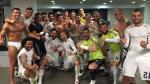 Cristiano Ronaldo celebró la victoria del Real Madrid sobre el Barcelona en calzoncillo - Noticias de real madrid vs wolfsburgo