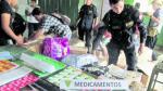 Chiclayo: Policía incauta medicamentos 'bamba' valorizados en un millón de soles - Noticias de juan ortiz davila
