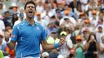 Novak Djokovic derrotó a Kei Nishikori y se llevó su sexto título del Masters 1000 de Miami - Noticias de andre agassi