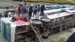 Cusco: 23 muertos y 19 heridos dejó caída de bus a río en Ocongate [Fotos y video] - Noticias de quispe palomino