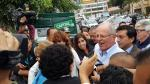 PPK votó en colegio de San Isidro tras desayunar en comedor popular [Fotos y videos] - Noticias de cerro san cosme