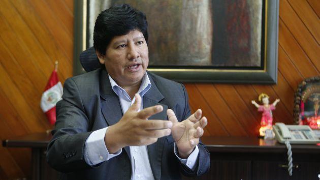Edwin Oviedo quiere aclarar cuestionamientos a su trabajo en la FPF. (USI)