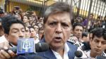 Alan García decidió retirarse de la dirigencia del Apra, según Jorge del Castillo - Noticias de elecciones municipales 2014