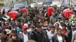 Huancayo rinde honores a soldados asesinados por narcoterroristas en el VRAEM - Noticias de luis barzola
