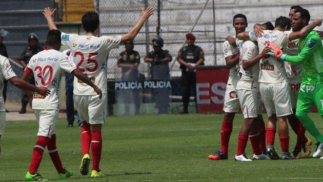 La 'U' se impuso 1-0 a Sporting Cristal y ganó Torneo Apertura 2016