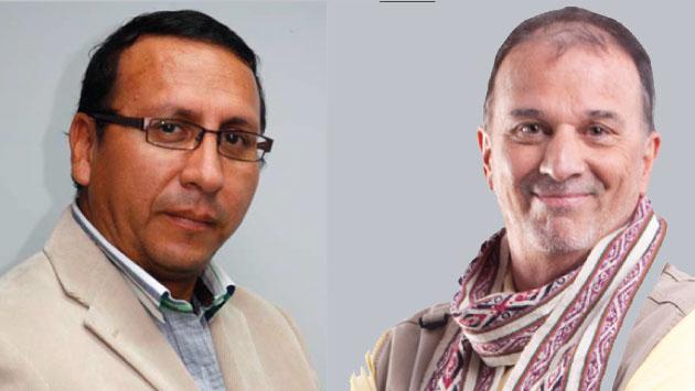 Asociación Nacional de Periodistas del Perú denuncia persecución judicial a periodistas. (Composición)