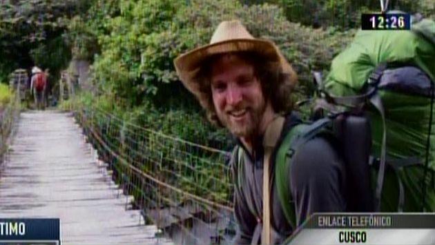 Cusco: Hallaron muerto a turista británico que desapareció hace más de 10 días. (Canal N)