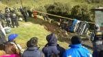 Pasco: Cinco fallecidos han sido identificados tras caída de bus a abismo [Fotos] - Noticias de jose chavez huaman