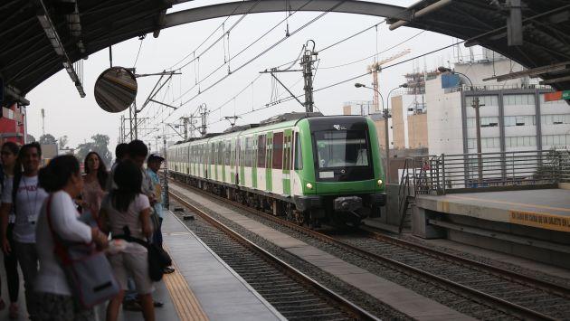 Metro de Lima está diseñado para soportar terremotos de 9 grados. (Perú21)