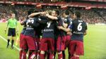 Atlético de Madrid venció 1-0 al Athletic de Bilbao y comparte la punta con el Barcelona [Fotos y video] - Noticias de estadio de san marcos