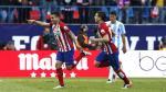 Atlético de Madrid venció 1-0 al Málaga y se mantiene como líder de la Liga española [Fotos y video] - Noticias de angel correa