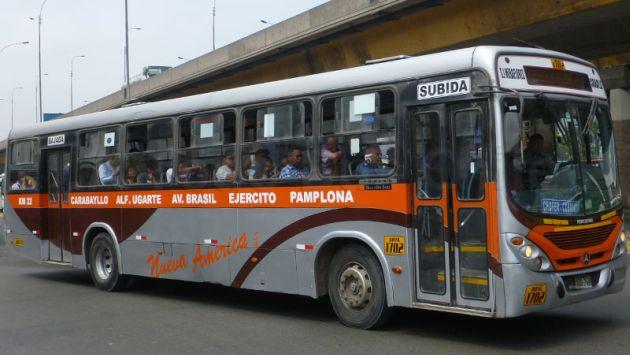 Empresa de transportes recorta su ruta ante constantes asaltos a sus unidades. (Daniel Soto)